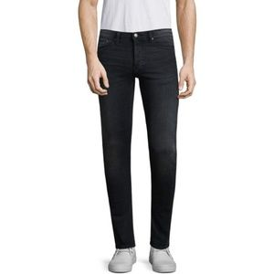 The Kooples Men's  Fitted Black Jeans 33x34